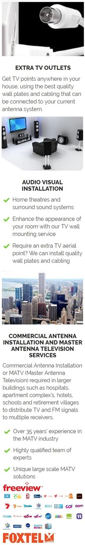 Central Coast Antenna Services